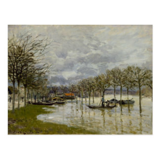 Alfred Sisley - The Flood on the Road Postcard