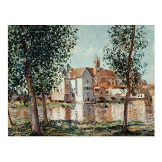 Alfred Sisley | The Loing at Moret Postcard