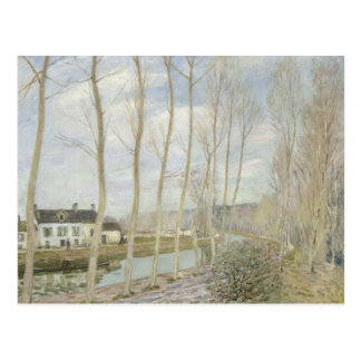 Alfred Sisley - The Loing's Canal Postcard