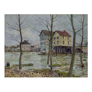 Alfred Sisley | The Mills at Moret-sur-Loing Postcard