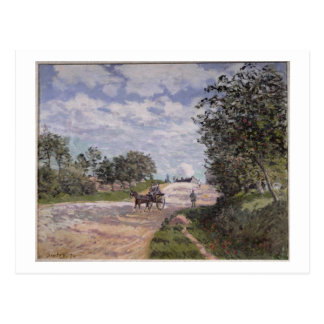 Alfred Sisley | The Road from Mantes  Postcard