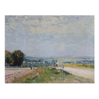 Alfred Sisley | The Road to Montbuisson Postcard