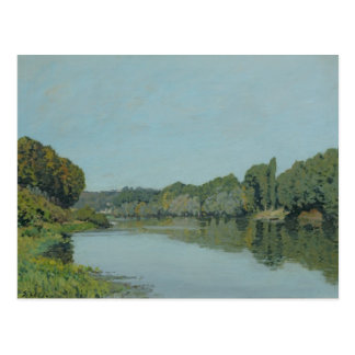 Alfred Sisley | The Seine at Bougival Postcard