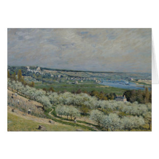 Alfred Sisley - The Terrace at Saint-Germain Card