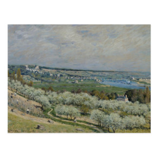Alfred Sisley - The Terrace at Saint-Germain Postcard