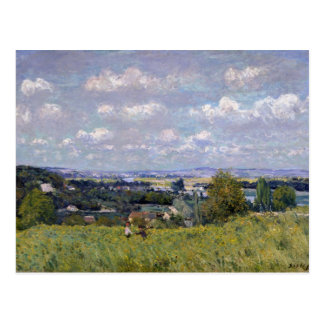 Alfred Sisley | Valley of the Seine at St-Cloud Postcard