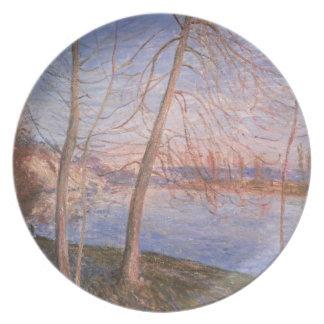 Alfred Sisley | Winter Morning Dinner Plate