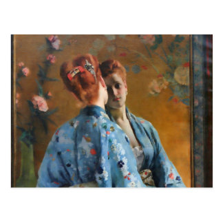 Alfred Stevens The Japanese Parisian Postcard