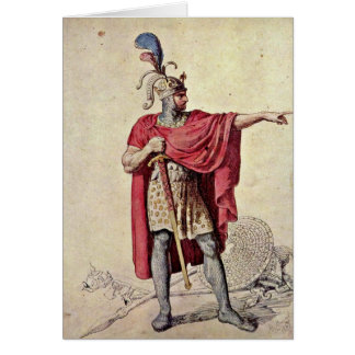 Alfred The Great By Menzel Adolph Von Card