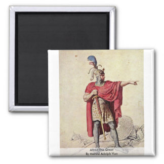 Alfred The Great By Menzel Adolph Von Magnet