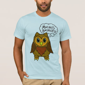 Alfred the owl friend T-shirt