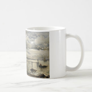 Alfred Wahlberg - Moonlight, Fjallbacka Coffee Mug