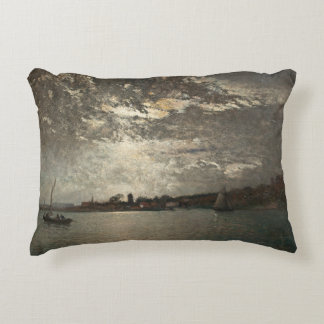 Alfred Wahlberg - Moonlight Mood, The Stockholm Decorative Pillow