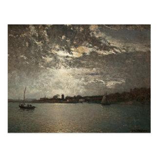 Alfred Wahlberg - Moonlight Mood, The Stockholm Postcard
