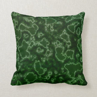 Algae Lab Throw Pillow