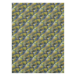 Algae of the Iceland hot sources Tablecloth