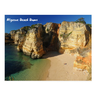 Algarve Beach Bums Postcard