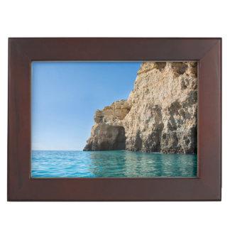 Algarve Coast keepsake box