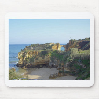 algarve coast mouse pad