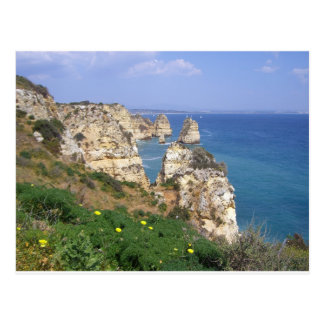 algarve coast postcard