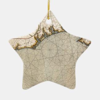 Algarve Portugal 1690 Ceramic Ornament