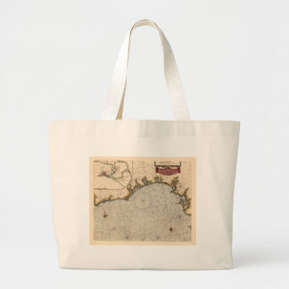 Algarve Portugal 1690 Large Tote Bag