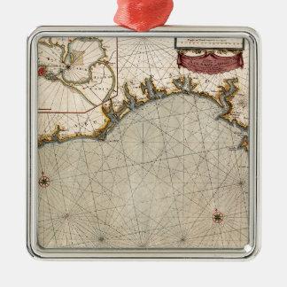 Algarve Portugal 1690 Metal Ornament