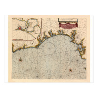 Algarve Portugal 1690 Postcard