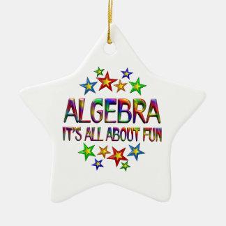 Algebra About Fun Ceramic Star Ornament
