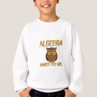 Algebra Makes You Wise Sweatshirt