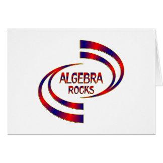 Algebra Rocks Card