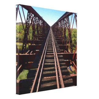 Algebuckina Bridge canvas print