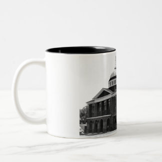 Alger County Court House Two-Tone Coffee Mug