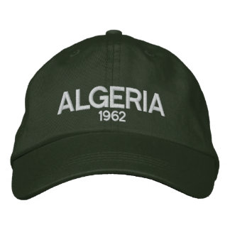 Algeria- 1962 Embroidered Hat
