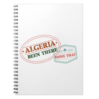 Algeria Been There Done That Notebook