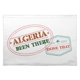 Algeria Been There Done That Placemat