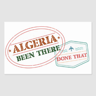 Algeria Been There Done That Sticker