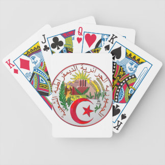 Algeria Bicycle Playing Cards