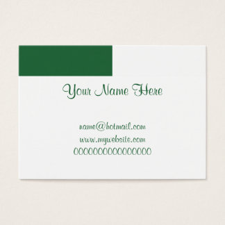 Algeria Business Card