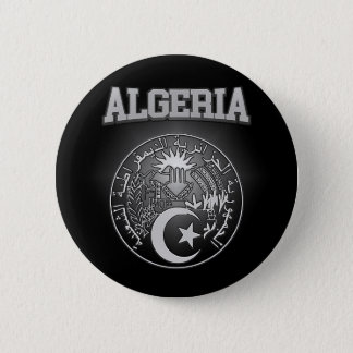 Algeria Coat of Arms 2 Inch Round Button