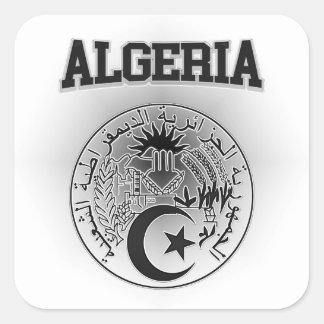 Algeria Coat of Arms Square Sticker