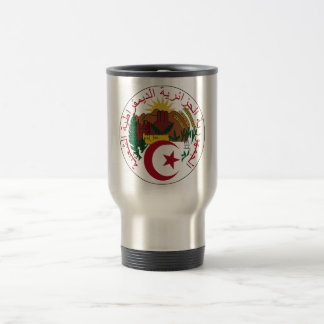 Algeria Coat of Arms Travel Mug