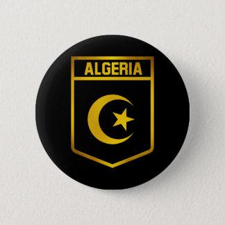 Algeria Emblem 2 Inch Round Button