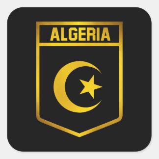 Algeria Emblem Square Sticker