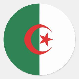 Algeria Fisheye Flag Sticker