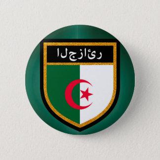 Algeria Flag 2 Inch Round Button