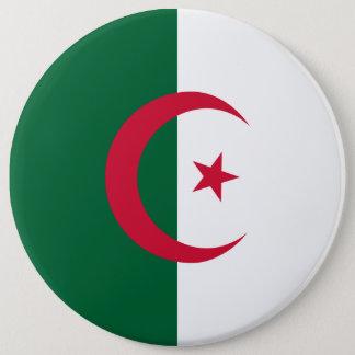 Algeria Flag 6 Inch Round Button