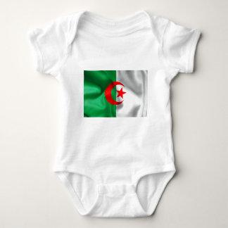 Algeria Flag Baby Bodysuit
