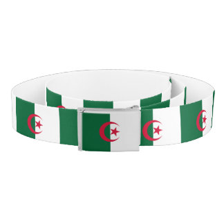 Algeria Flag Belt