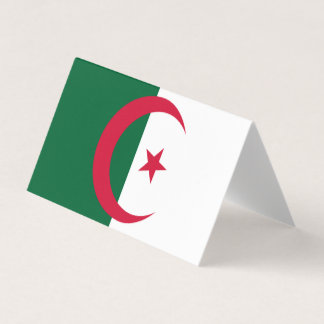 Algeria Flag Business Card